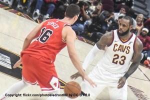 USA - NBA - Chicago Bulls - Paul Zipser - Action