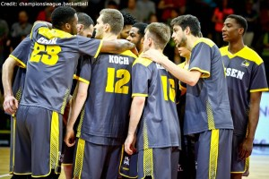 Champions League - MHP RIESEN Ludwigsburg - Huddle
