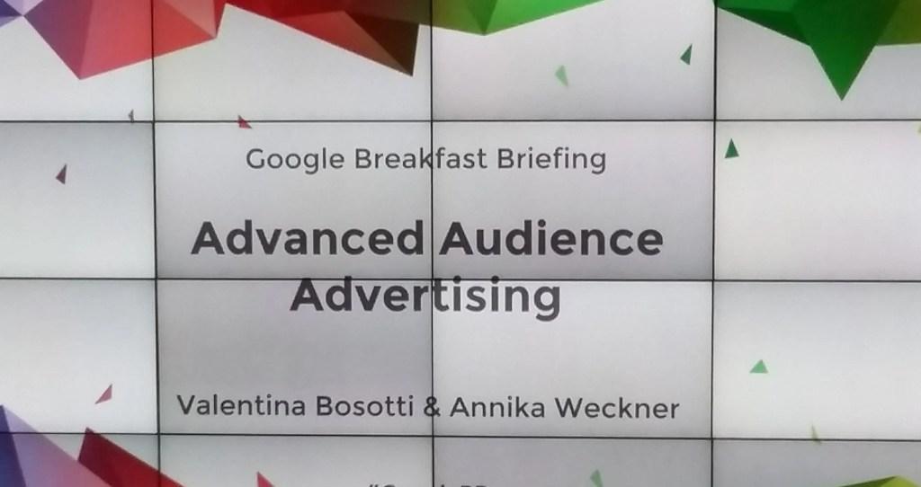 Google Breakfast Title