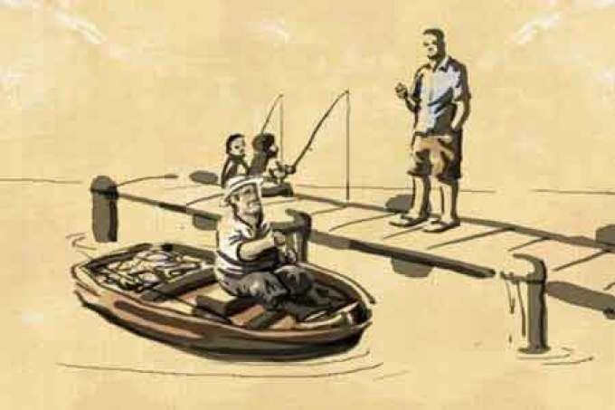 The Fisherman, The Businessman and Life
