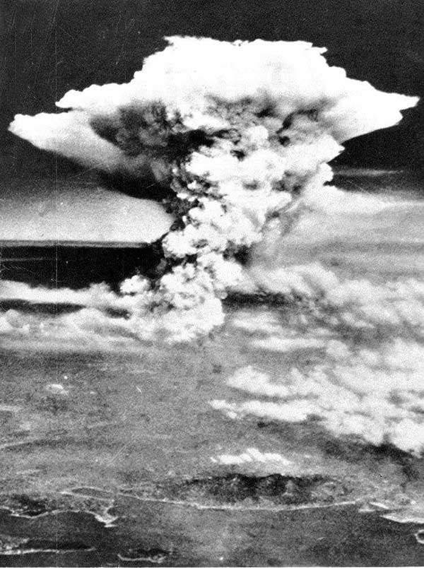 The Most Iconic Photos Of The 1940s: Atomic Bomb In Hiroshima, 1945
