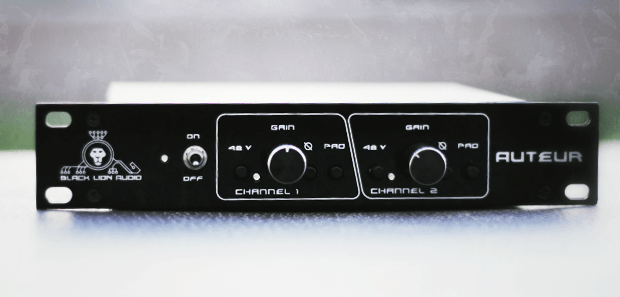 Black Lion Audio AUTEUR Preamp Review