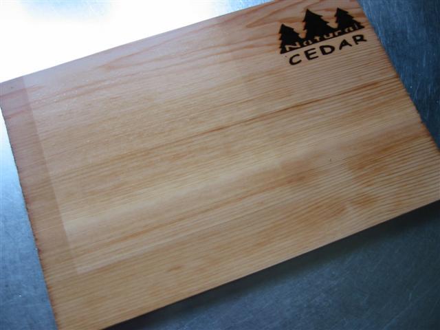 Cederhouten BBQ Plank