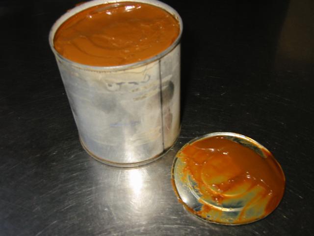 karamel van gecondenseerde melk
