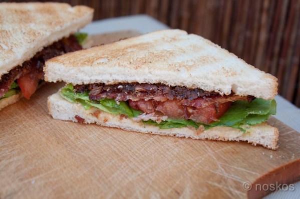 BLT sandwich - De Bacon, Lettuce, Tomato