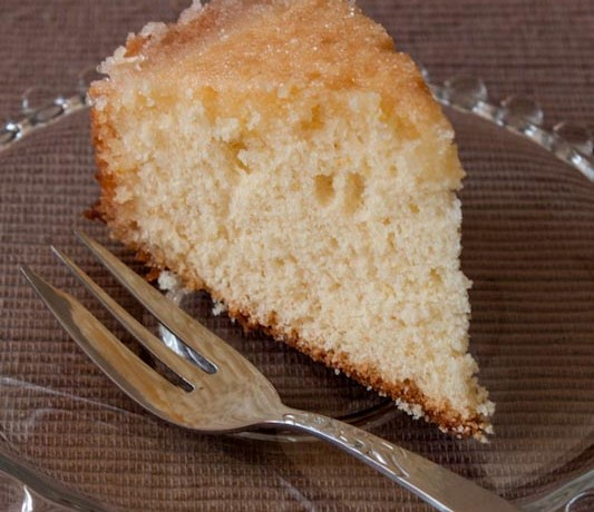 Crunchy Top Lemon Cake