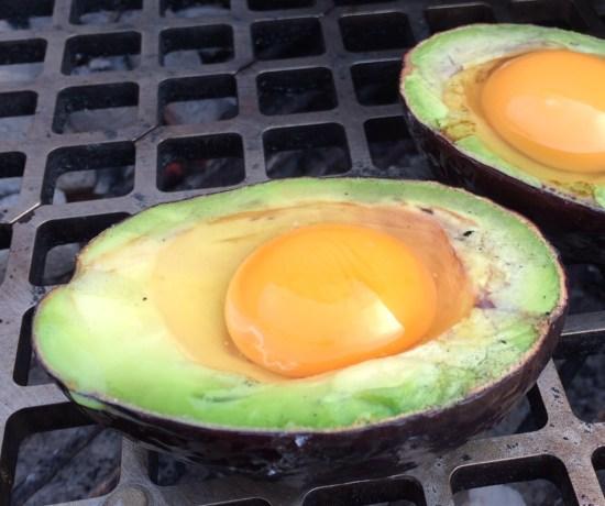 Avocado met ei
