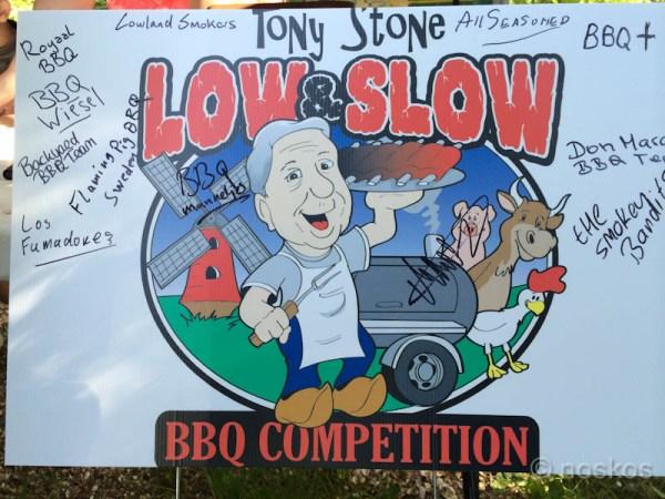 Tony Stone Sign