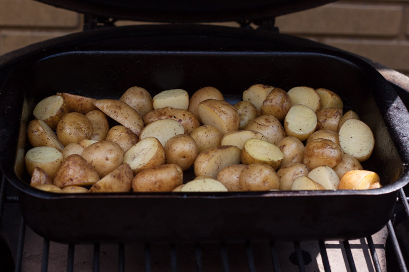 Gerookte aardappelsalade