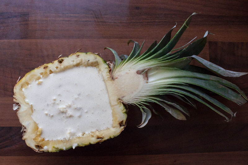 Baked Hawaii - de ananas