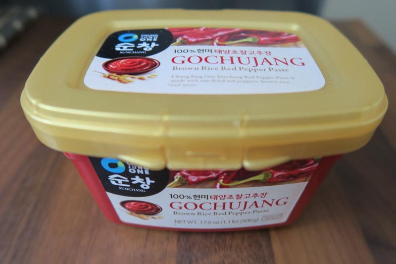 Koreaanse kippenvleugels - gochujang