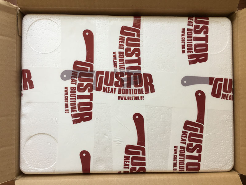 Japanse Wagyu entrecote - de verpakking