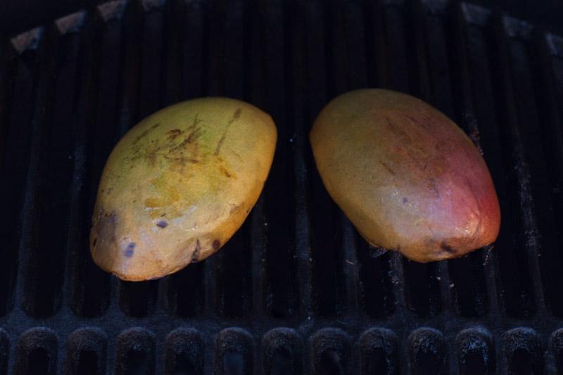 Jewel of Oaxaca - mango's op de barbecue