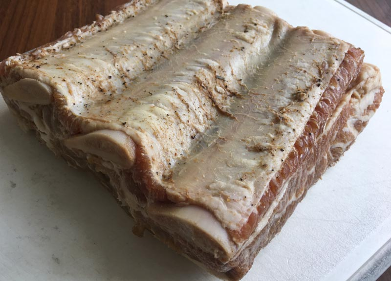 Pastrami short ribs - de ribs na de pekel