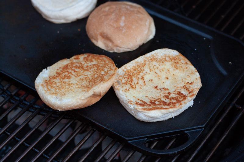 Smashburger - getoaste broodjes