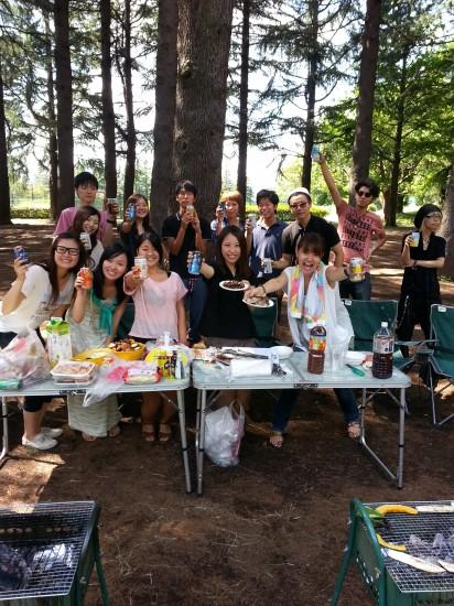 2013-9-9 野川公園 バーベキュー