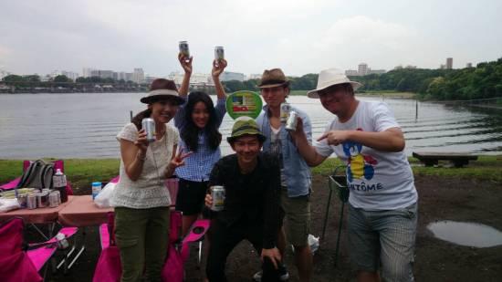 2014年6月25日 大井ふ頭中央海浜公園へのお届け
