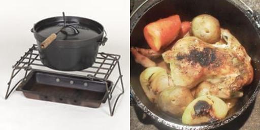 ダッチオーブンセット・ローストチキン(BBQ食材)