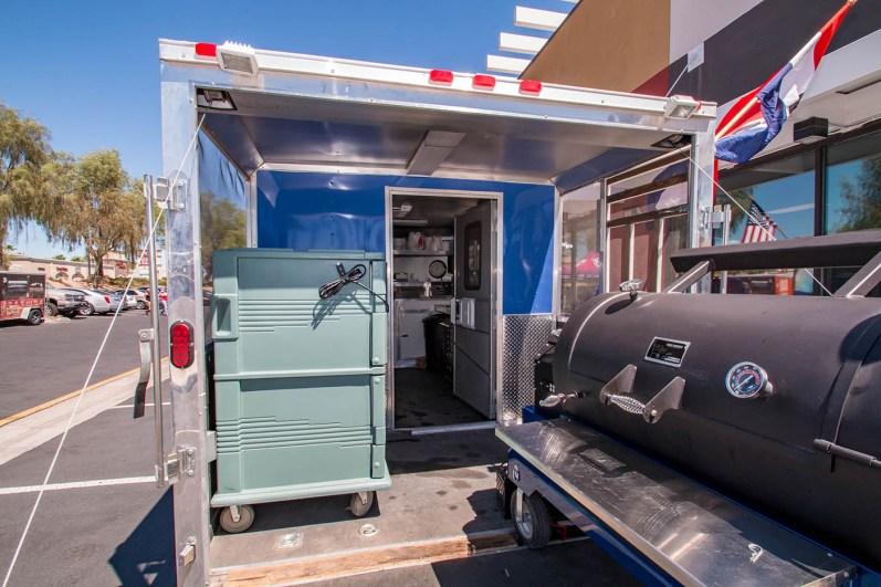 Chef Phillip Dell BBQ Truck
