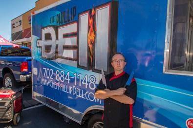 Chef Phillip Dell in his Signature Pose