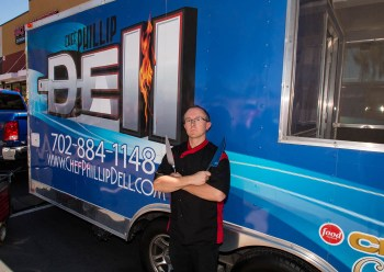 Food Network Chopped Champion Chef Phillip Dell - BBQ Concepts of Las Vegas Official Grand Opening