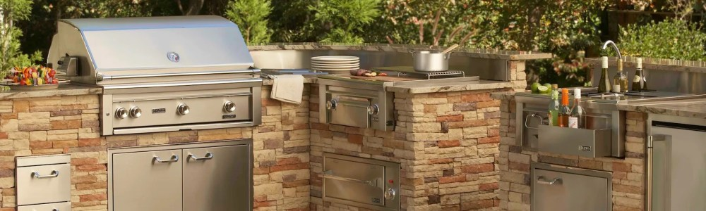 Purchasing A Professional Barbecue Grill for your Outdoor Kitchen ...