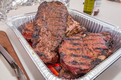 Chef Phillip Dell's Basic Grilled Steak - At BBQ Concepts Back to Basics Grilling Class