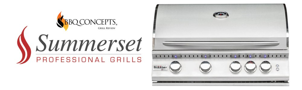 "Summerset Sizzler Pro 32"" Grill Review by Omid Mahban of BBQ Concepts of Las Vegas, Nevada"