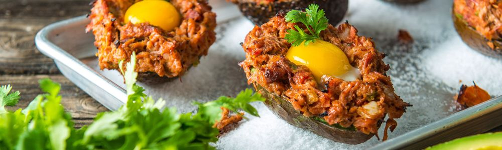 Traeger Wood Fire Grill Recipe - Stuffed Avocado Traeger Wood Pellet Grills
