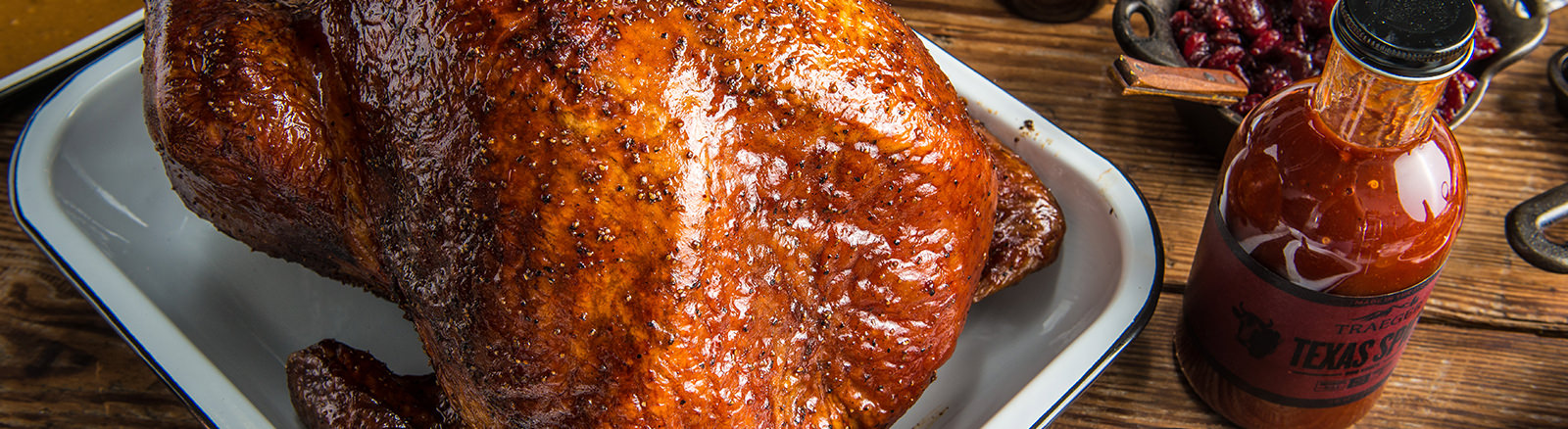Traeger Recipe Thanksgiving BBQ Turkey Traeger Wood Pellet Grills