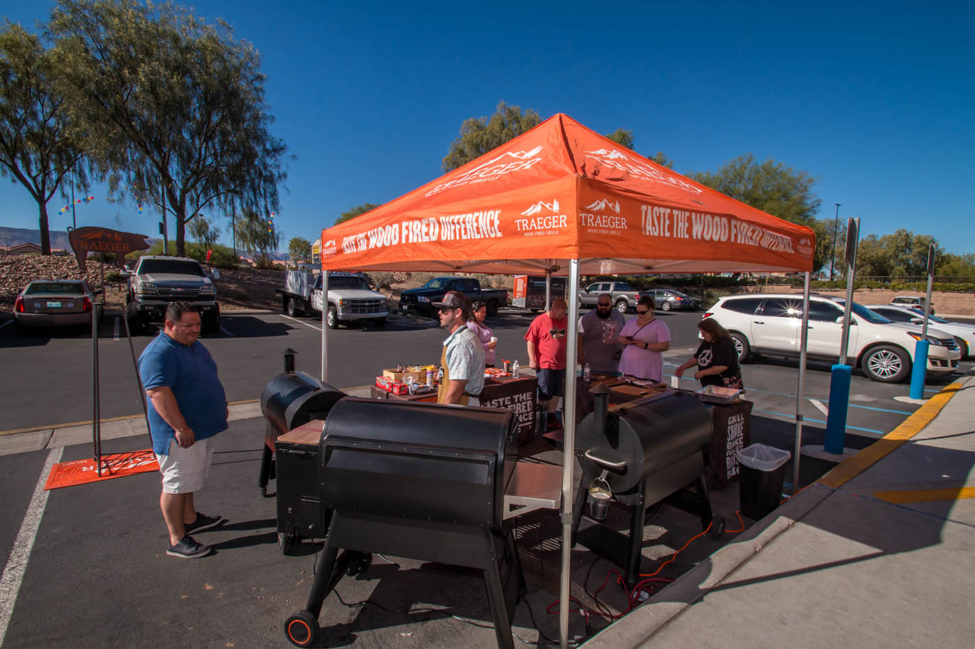Traeger Wood Pellet Grill Demo Day Event Coverage Photos