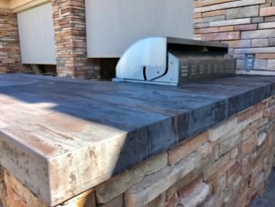 Custom Outdoor Kitchen - Dekton Trilium by Cosentino Close-up Counter-top