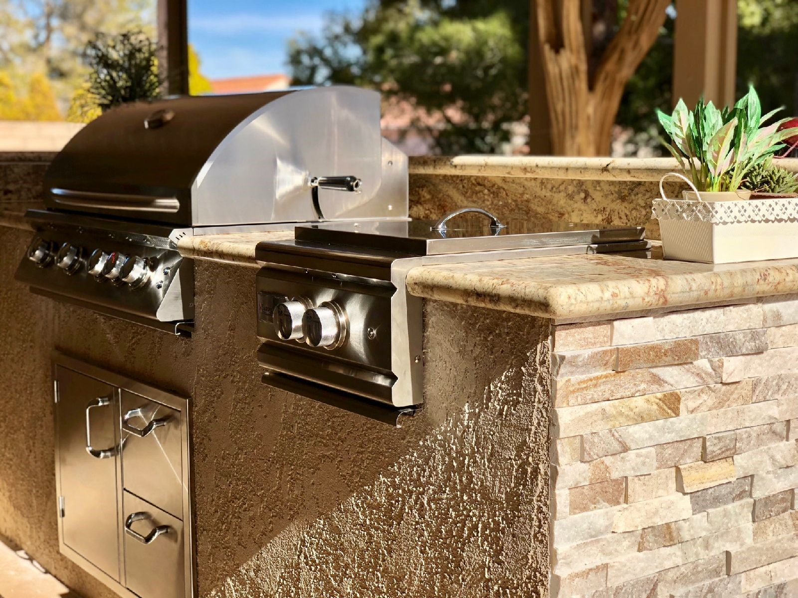 Custom Outdoor Kitchen Design   BBQ Concepts Of Las Vegas, Nevada