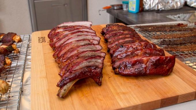BBQ Concepts - Nick Van Roy's Traeger Smoked BBQ Ribs