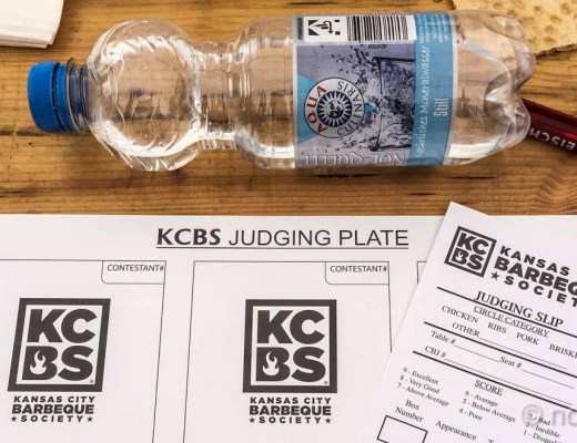 Judging essentials for a KCBS contest.
