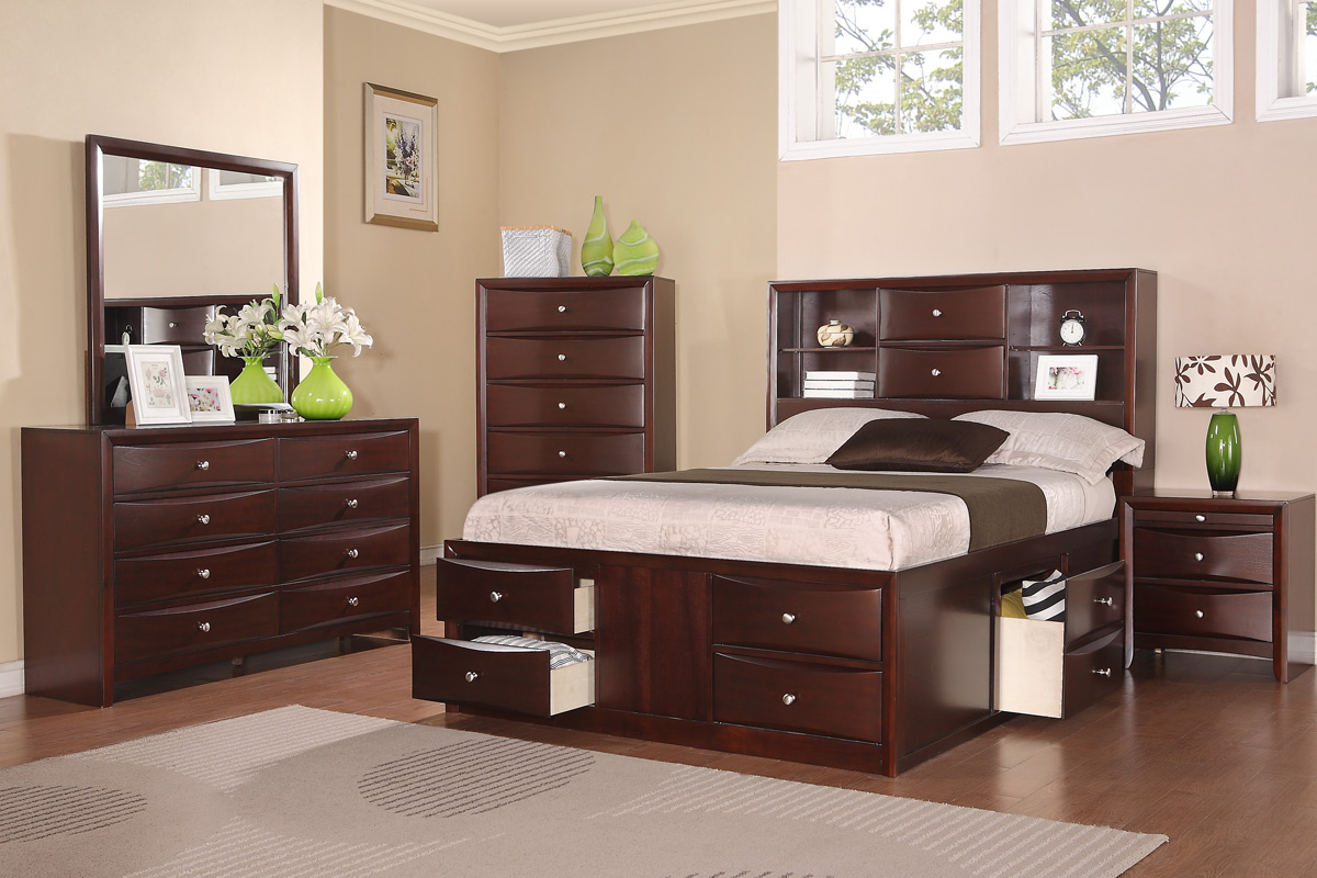 4PC Queen Bed Set  F9234    BB s Furniture Store F9234