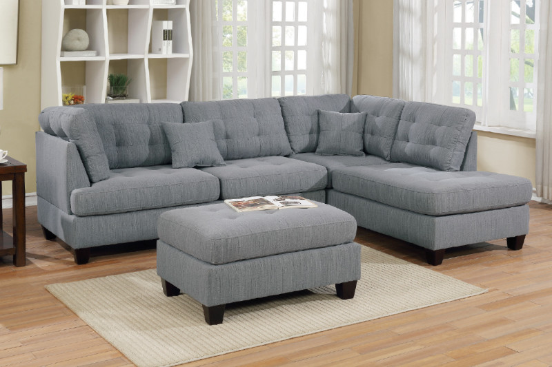 sectional sofa ottoman f6581