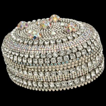 bb Simon Swarovski crystal jewelry box J-714