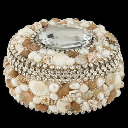 bb Simon Swarovski crystal jewelry box J-715