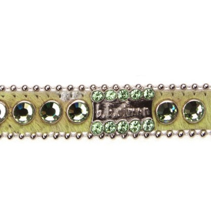 B.B.SIMON DOG Emma Swarovski Jeweled Dog Pet Collar