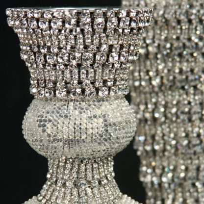 CDH-214 bb Simon Swarovskii crystal Candle holder