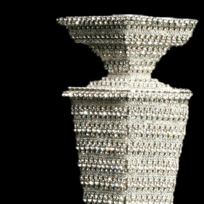 CDH-215-L bb Simon Swarovskii crystal Candle holder
