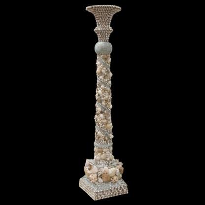 CDH-244-SH b.b.Simon Swarovski crystal Candle holder