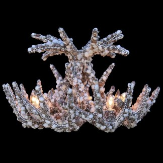 CH-701-SHELL bb Simon Swarovski crystal Chandelier