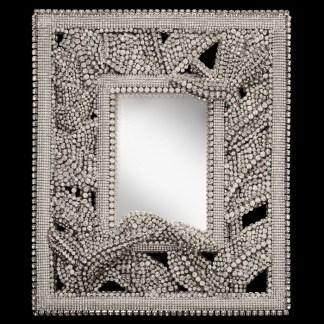 F-159-CLEAR-M bb Simon Swarovski crystal frame