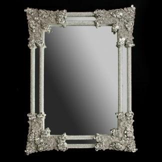 M-401-CLEAR BB Simon Modern Rhinestone Mirror