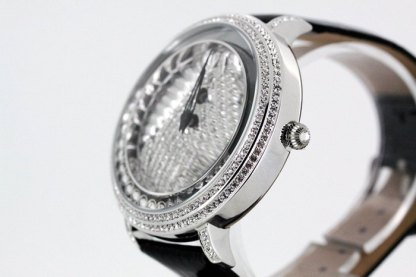 W52303 SILVER - BLACK L B.B.SIMON WATCH