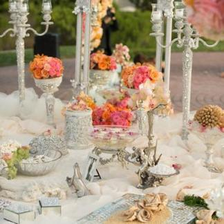 WEDDING RENTAL #2 - Crystal Decorations, Centerpieces, Chandeliers, Cake Stands