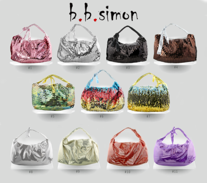 Women's Synthetic Fabrics Custom Handbags For Sale 5pcs/with 11 Colors to Choose from