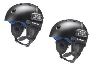 Two way 100% waterproof package for your helmet